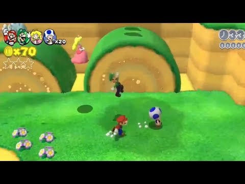 Super Mario 3D World Walkthrough' Gameplay Trailer 【WII U HD】 E3M13,