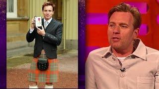 Ewan McGregor's OBE (Wan Kenobi) - The Graham Norton Show