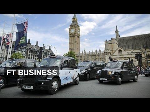 Taxi wars  --  Black cabs v Uber