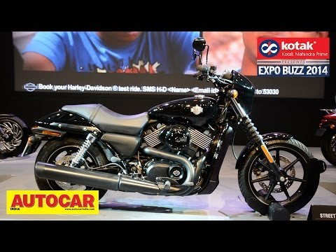 Harley Davidson Street 750 Launched @ Auto Expo 2014 | Kotak Mahindra Prime Presents Expo Buzz 2014