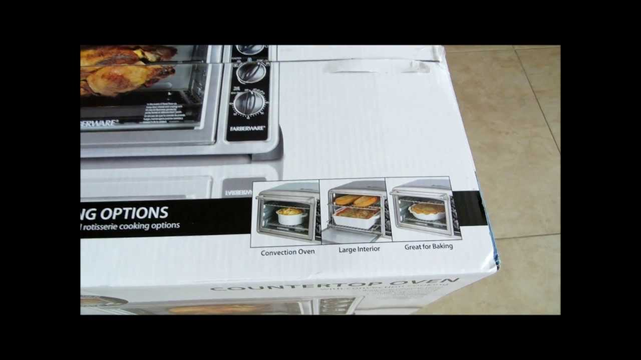 Convection Countertop Oven Farberware : Farberware Countertop Oven with Convection and Rotisserie Feature ...