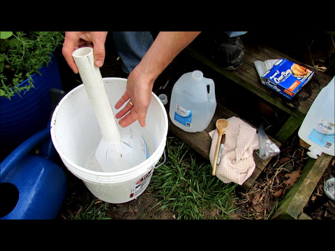 Container Tomatoes & Vegetables: How to Cheaply & Easily Build a 1 Gallon Water Wicking System