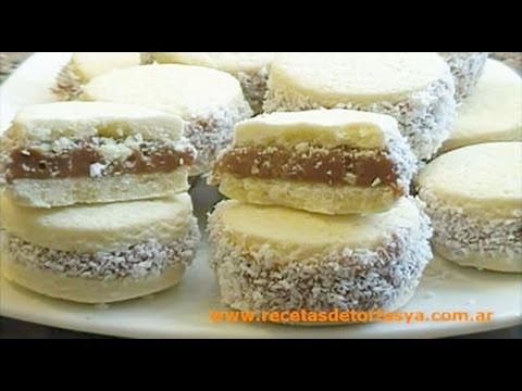Alfajores de Maicena - Recetas de Tortas YA!