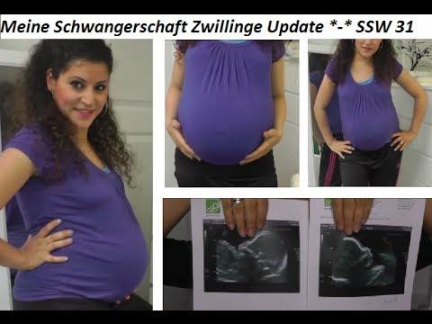 Meine Schwangerschaft Zwillinge Update SSW 26 - 31