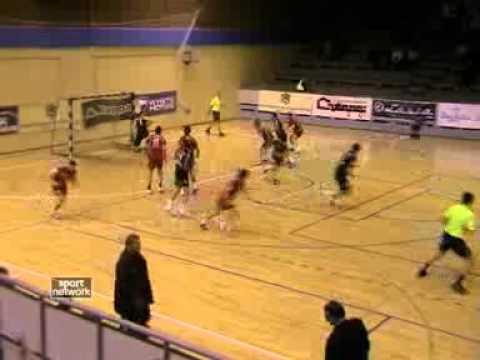 Snimak sa utakmice Partizan-Planinka i intervju trenera Brkovića