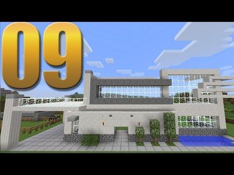 Casa moderna minecraft em busca da casa autom tica 9 for Casas modernas minecraft 0 9 5