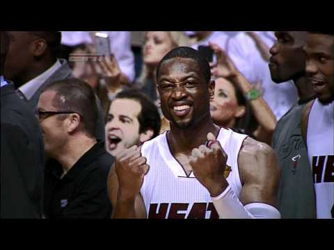 Heat celebrate title with Gatorade dunk for Spoelstra!