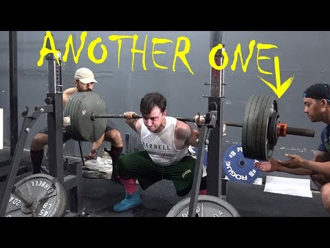 Road to A 6 Plate Squat