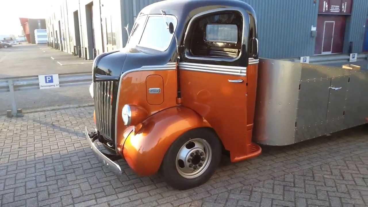 1947 coe hauler - YouTube