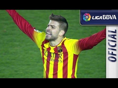 Resumen de Levante UD (1-1) FC Barcelona - HD - Highlights