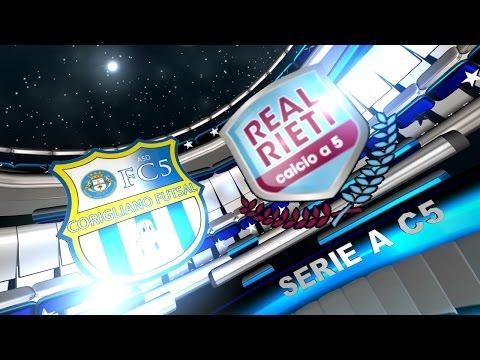 Serie A, Corigliano - Real Rieti 3-7 (16/04/16)