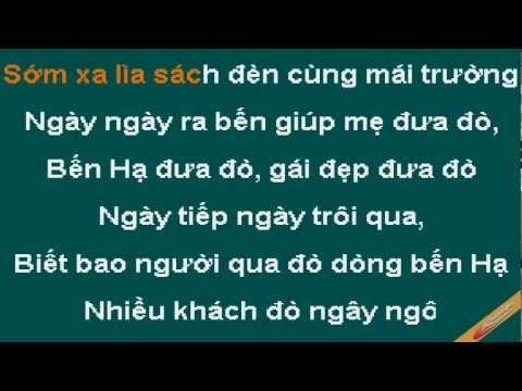 Chuyen Tinh Co Lai Do Ben Ha Karaoke - Thúy Hằng - CaoCuongPro