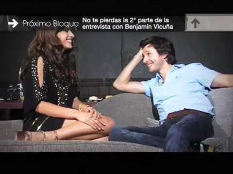 Benjamín Vicuña: entrevista por Pampita - Tendencia 2011