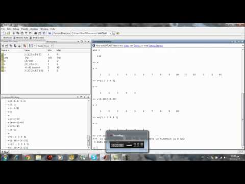 chapter2 part2 MATLAB Course By Sherif mamdouh Nour