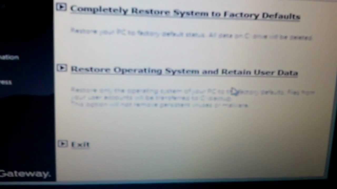Gateway NE Series Laptop Manual