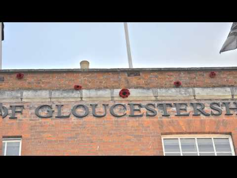 Soldiers of Gloucester museum Cheltenham Gloucestershire
