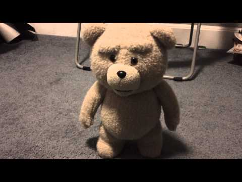Talking Ted 16' inch Plush Bear -  R Version