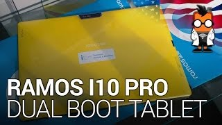 Ramos I10 Pro Dual Boot Android & Windows BayTrail