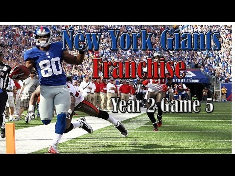 Madden 25 New York Giants Franchise (Y2,G5): Giants vs Redskins