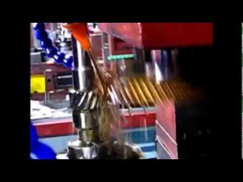 Geradora Escateladora de Engrenagens Helicoidais - Helical Gear Shaper Machine