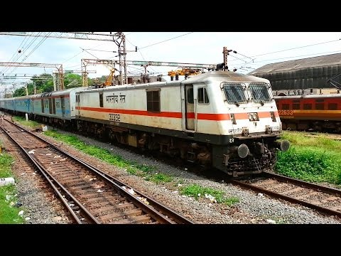 Parallel Action on Indian Railways: Bangalore Chennai Shatabdi Express Races With EMU