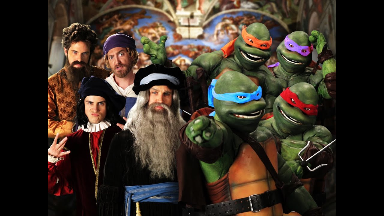 "For the 5000 people that asked me, yes I have seen the Ninja Turtles Epic Rap Battles of History. But that's because I always watch ERB. Some of the best stuff on YouTube IMO. <a href=""http://youtu.be/6HZ5V9rT96M"" class=""linkify"" target=""_blank"">http://youtu.be/6HZ5V9rT96M</a>"