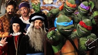 TMNT vs Renaissance Artists: Epic Rap Battles of History