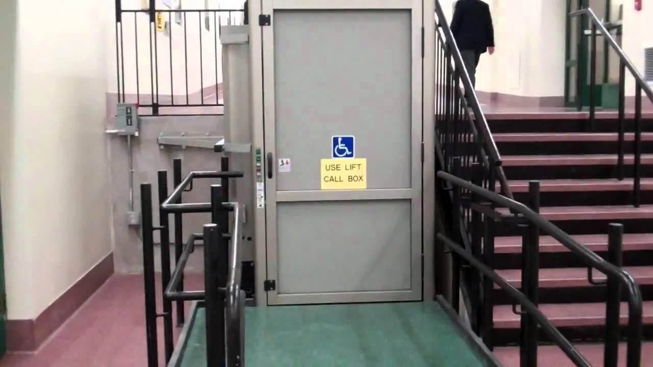 Worcester Fail Garaventa Wheelchair Lift Union Station
