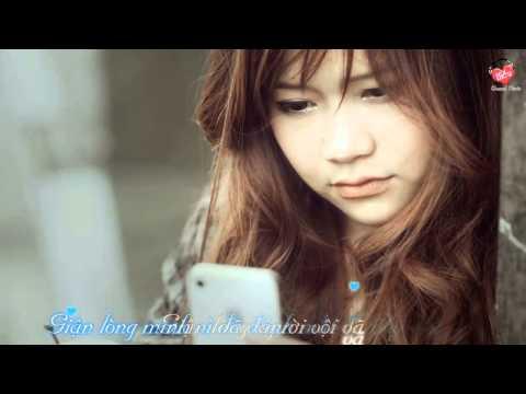 Giận Lòng   Đông Nhi Video Lyrics Karaoke Aegisub HD   YouTube   720p