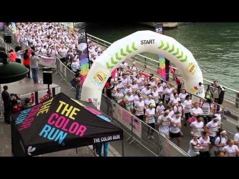 Weezevent & The Color Run Paris - Inscription en ligne et attribution de dossard