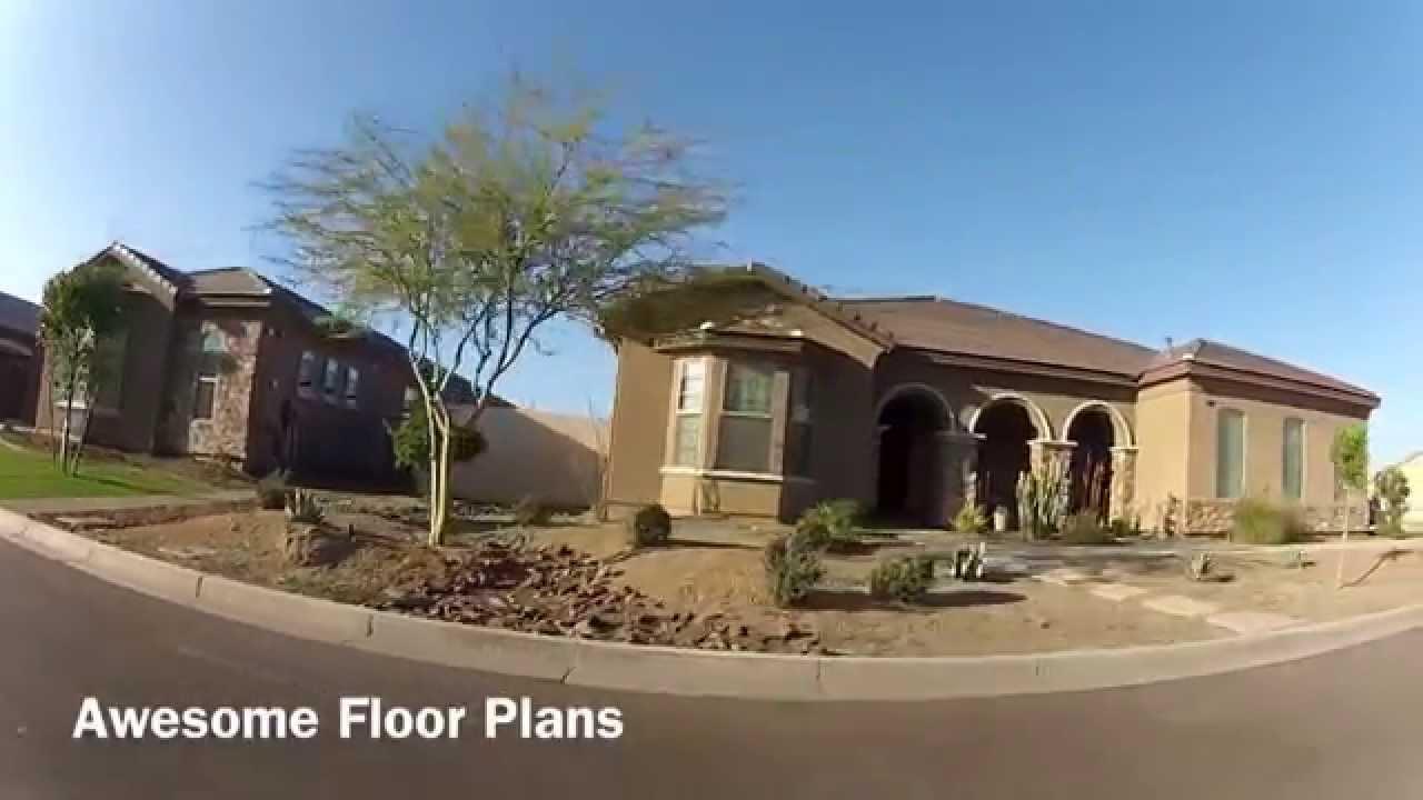 Beazer Homes Phoenix Desert Rose At South Mountain Phoenix Gated Community Youtube