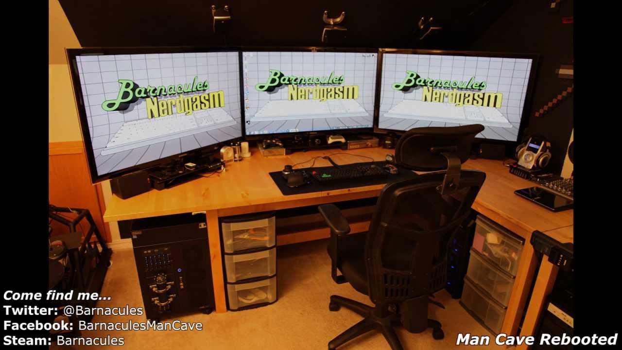 Best Gaming Room Tour Pc Xbox 360 Racing Simulator Huge