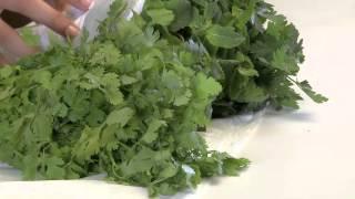 كيفية حفظ الخضروات الورقية