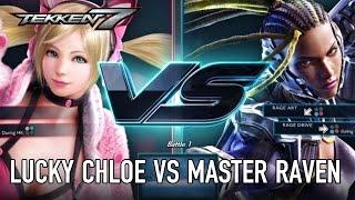 TEKKEN 7 - Lucky Chloe VS Master Raven Játékmenet