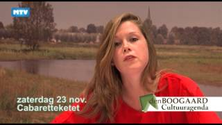 Theateragenda november - 641 Cultuuragenda Den Boogaard
