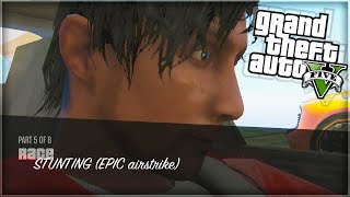 'ESCAPING THE MILITARY BASE!' GTA 5 Funny Moments (With