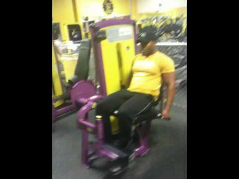 Planet Fitness Leg Extension Machine Youtube