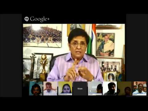 Dr. Kiran Bedi on Modi to get rid of Lawlessness