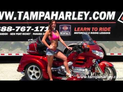Used 2010 Honda Goldwing  Motorcycle Trike for Sale