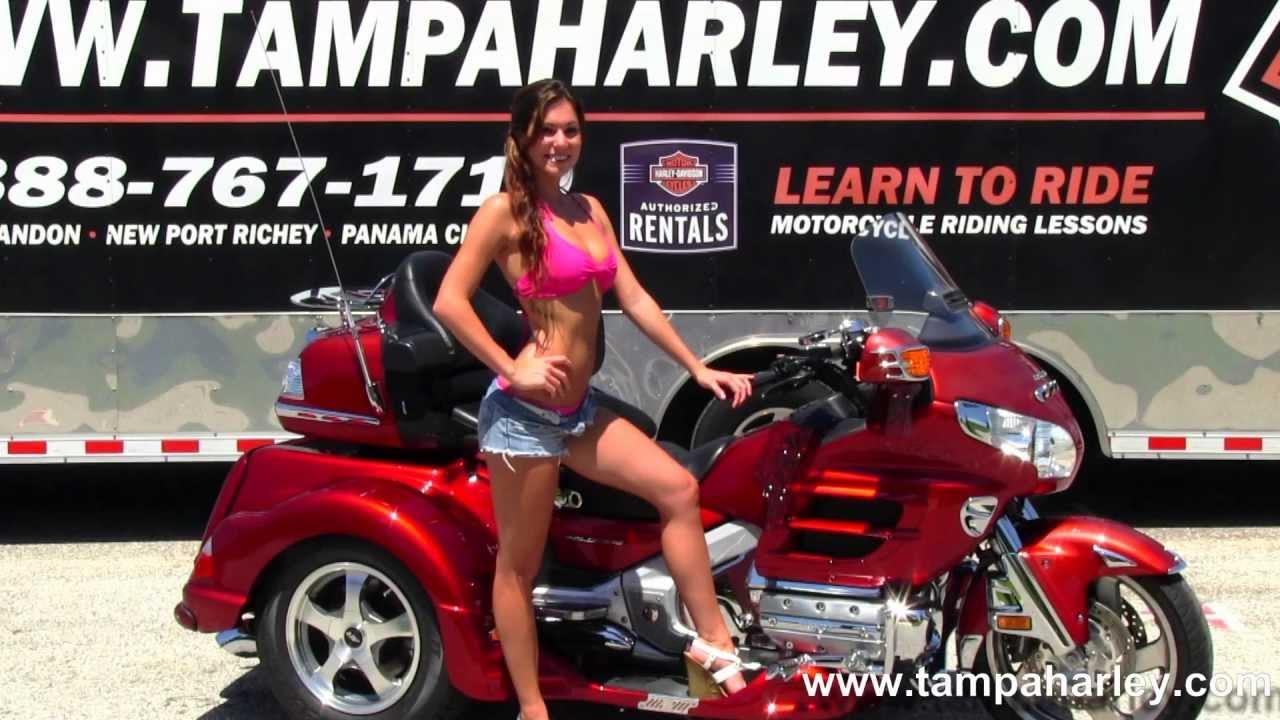 Used 2010 Honda Goldwing Motorcycle Trike for Sale - YouTube