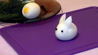 Hacer un conejo con huevo