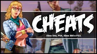 GTA V Todos Os Cheats/manhas (PS4, Xbox One, PS3 E Xbox