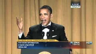 President Obama: White House Correspondents Dinner, 2012