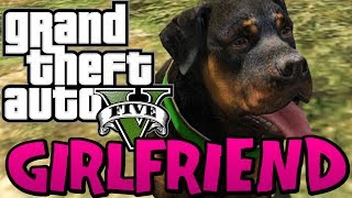 GTA 5 - How to get CHOP the DOG a GIRLFRIEND (Funny Moments on GTA V) Free Roam Fun Stuff