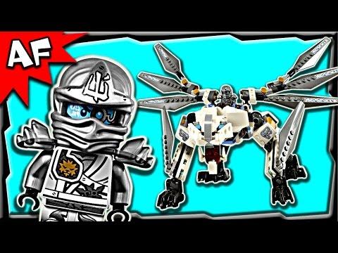 Lego Ninjago Episode 7 Language Comparison Zane Scream