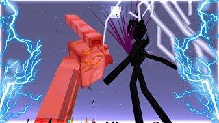 ENDERMAN KHỔNG LỒ ĐẤU VỚI IRON GOLEM KHỔNG LỒ!!  (Trận Chiến Kinh Khủng Nhất Minecraft!!)