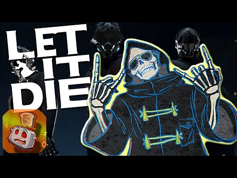 LET IT DIE - Super-Fun Beat-Em-Up for PS4!