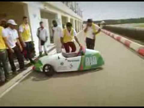 ADU's participation in 2014 Taqa Hybrid Electric Challenge