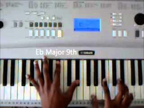 Piano Chords - R+B - Musiq Soulchild - Floetry - John Legend
