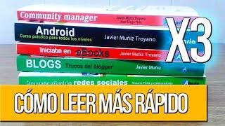 Leer 3 veces más rápido